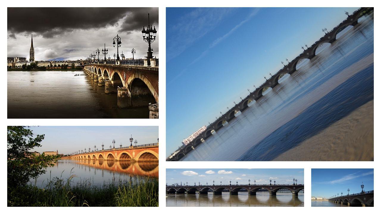Pont de Pierre - Rive gauche