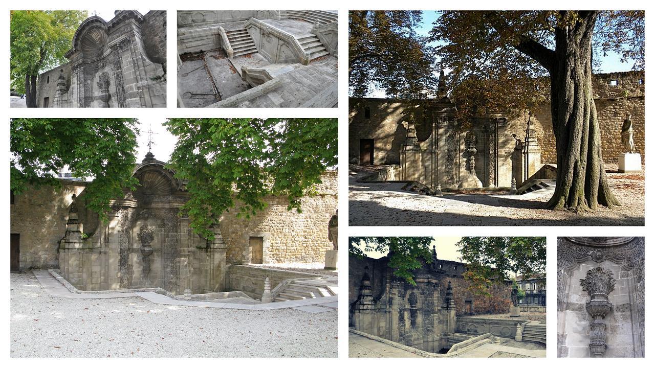 La fontaine Sainte-Croix